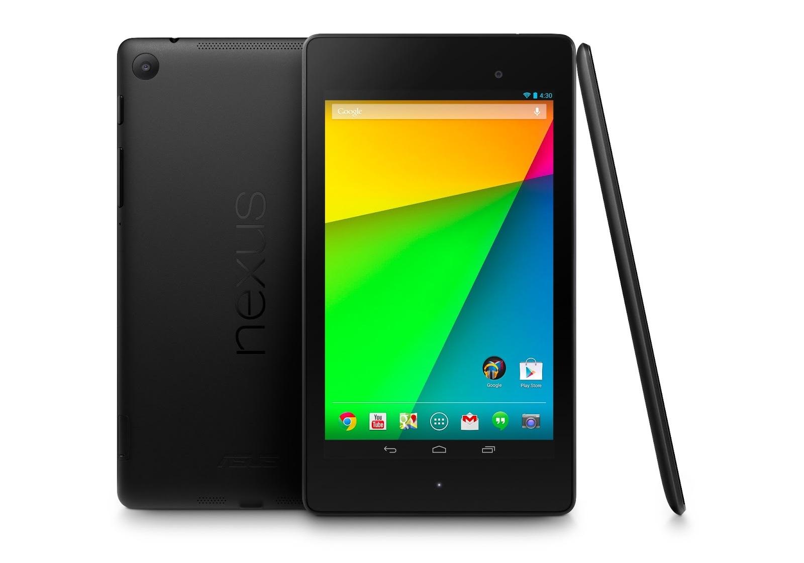 鮮やかフォトストレージ、Nexus7