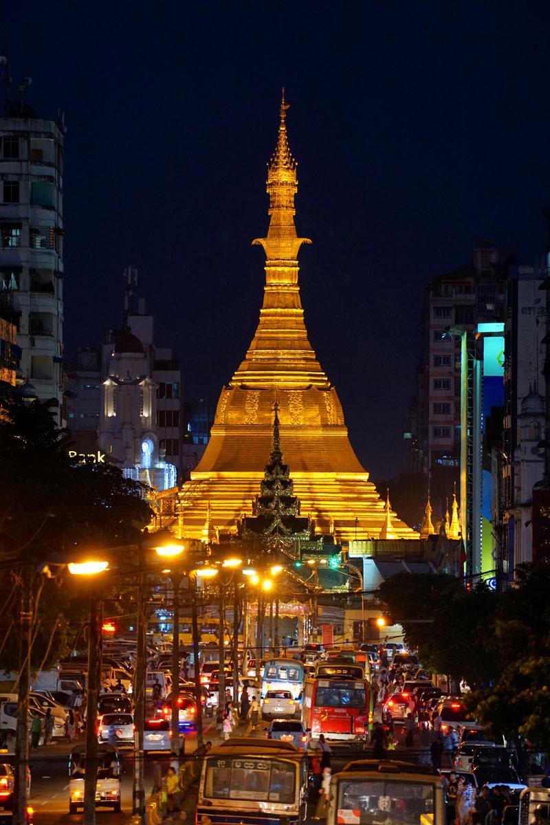 ヤンゴンのクリスマス・ベル