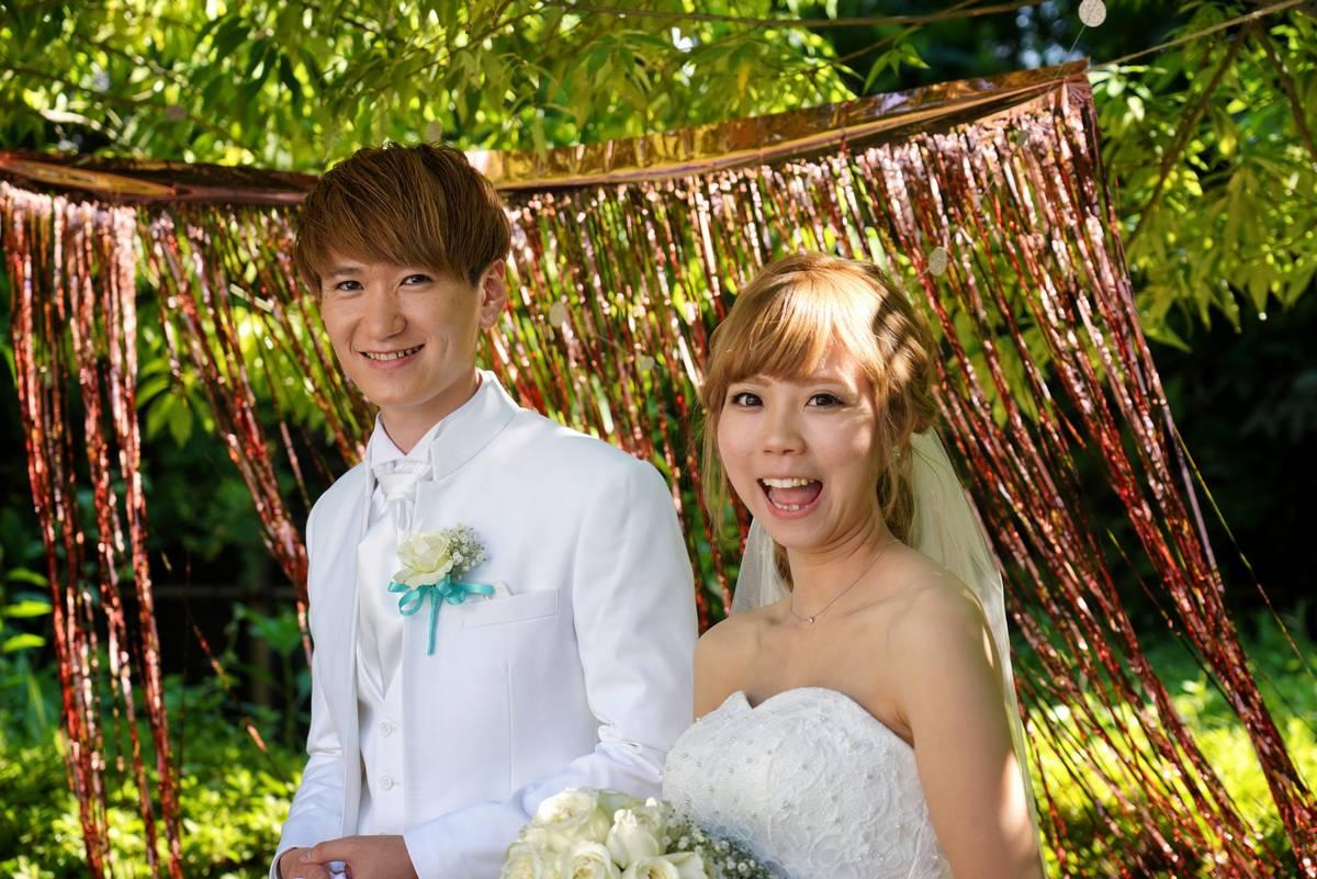 親族兼カメラマンの結婚式