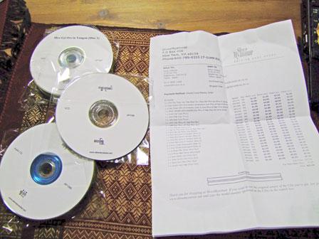 今週買ったCD(09/05/13)