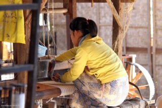 Khit Sunn Yin Lotus Silk & Cotton