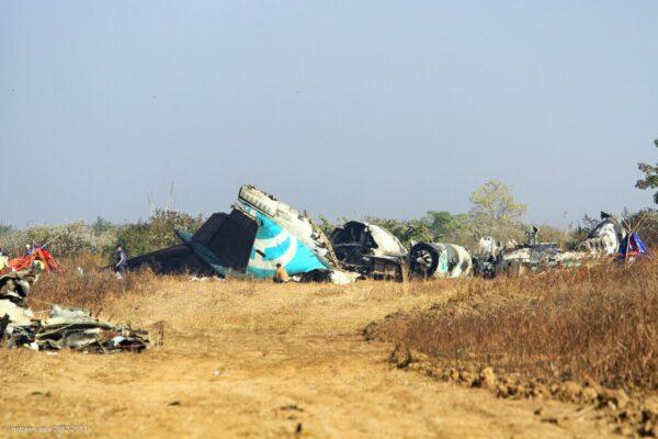 Air Bagan Flight 11
