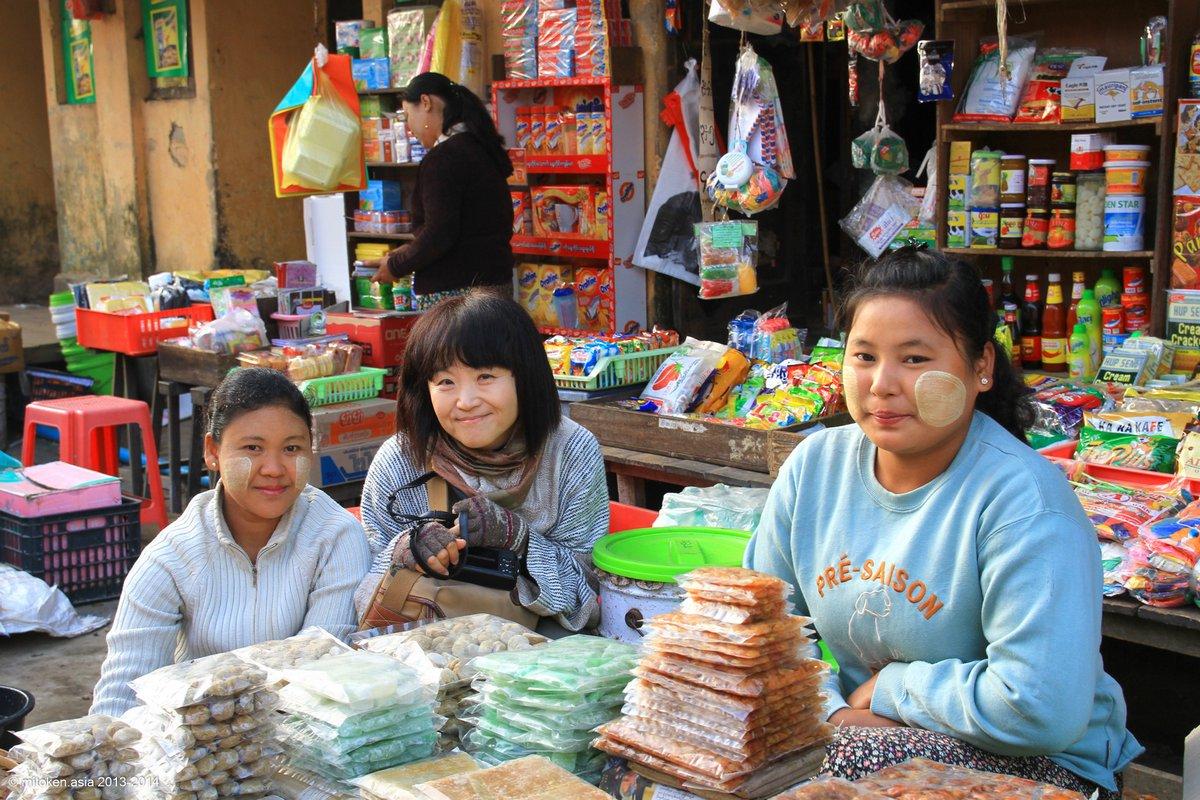 ヤンゴンまでの切れない関係