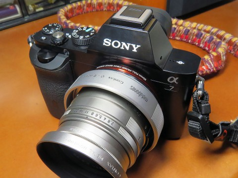 Contax G Lens to Sony NEX Adapter