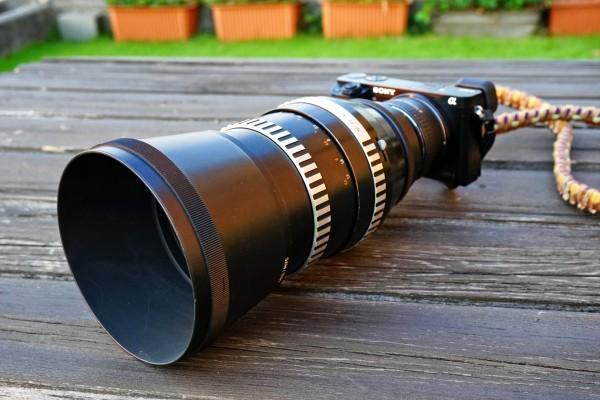 Carl Zeiss Jena Sonnar 180mm f2.8
