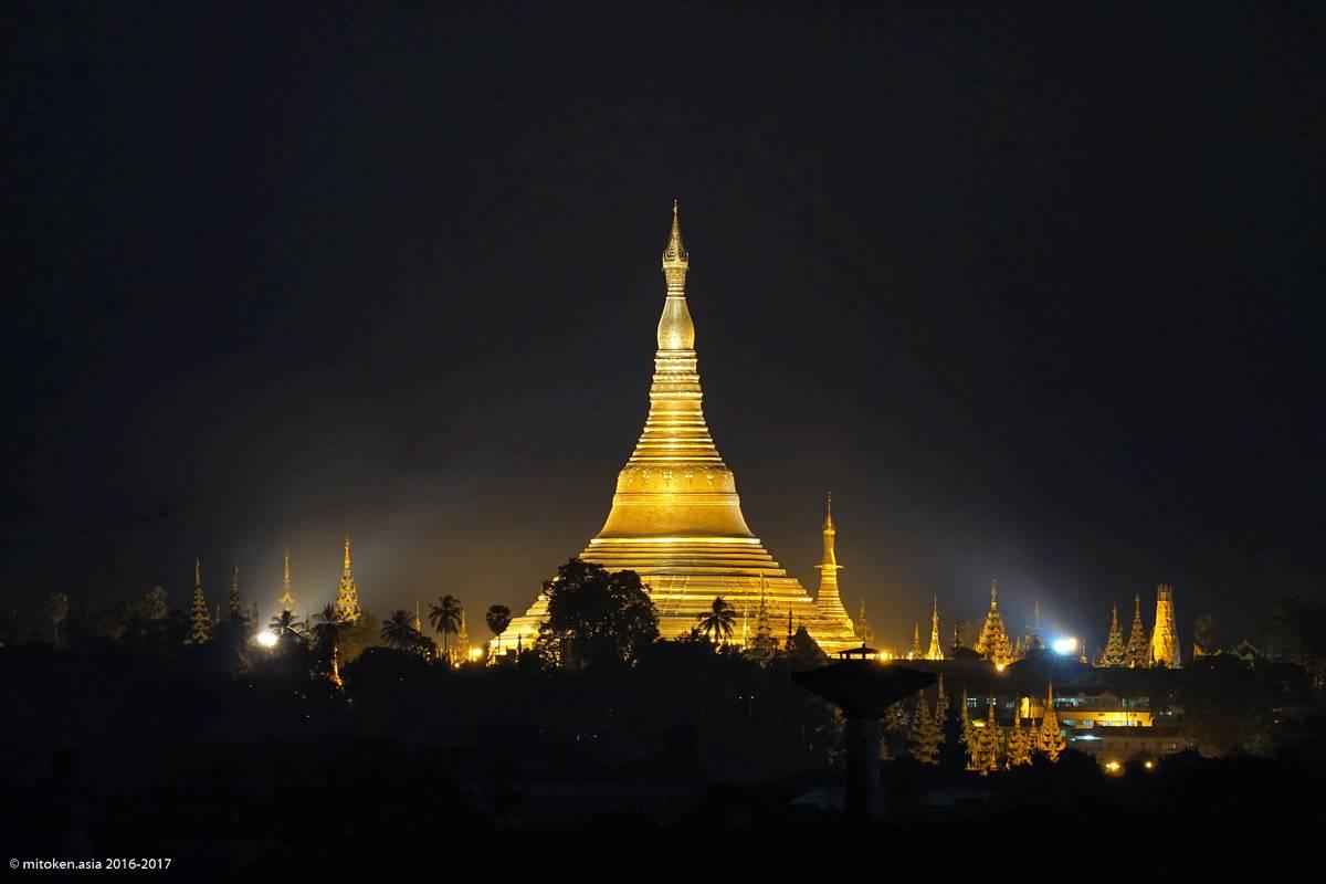 いつものヤンゴン