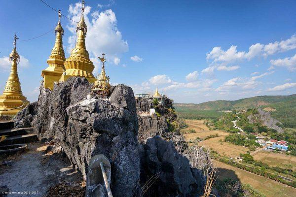 Kyauktalon Taung Pagoda